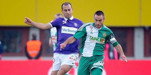Austria kickt Rapid mit 3:2-Derbysieg weg