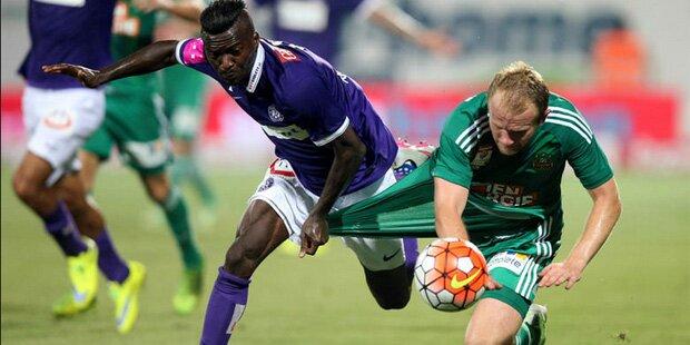 Derby: Last-Minute-Sieg für Austria
