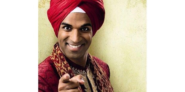 Der Inder schwingt sein Tanzbein
