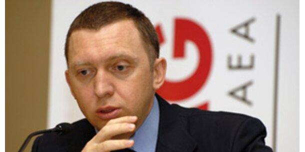 Oleg Deripaska geht das Geld aus
