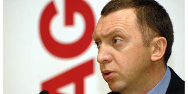 Deripaska-Vermögen um 25 Mrd geschrumpft