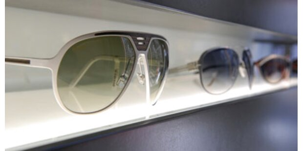 Optiker-Bande stahl 380 Designer-Brillen
