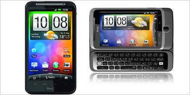 Hofer bietet das HTC Desire Z an
