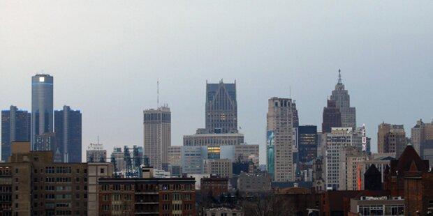 US-Metropole Detroit ist pleite
