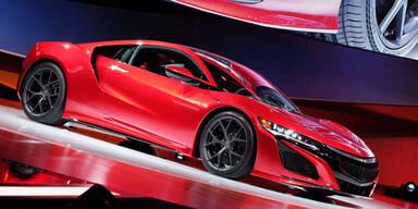 Die Highlights der Detroit Autoshow 2015
