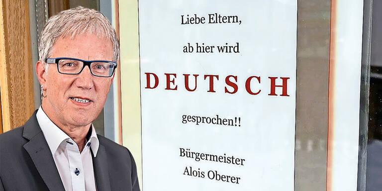 """""""Deutsch-Zonen"""" in Kindergärten"""