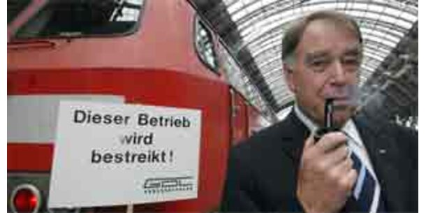 Deutsche Lokführer streiken ab dem 7.1. wieder