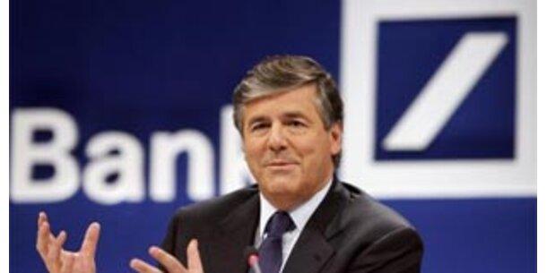 Deutsche Bank trotzt US-Finanzkrise