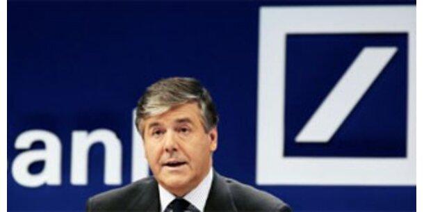 Deutsche Bank schreibt 4,8 Mrd. Euro Verlust