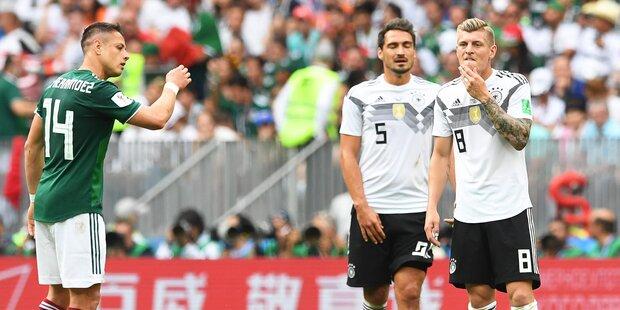 Deutschland verliert, Brasilien 1:1