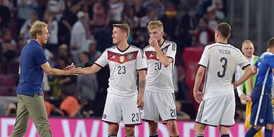 Deutsche blamieren sich gegen USA
