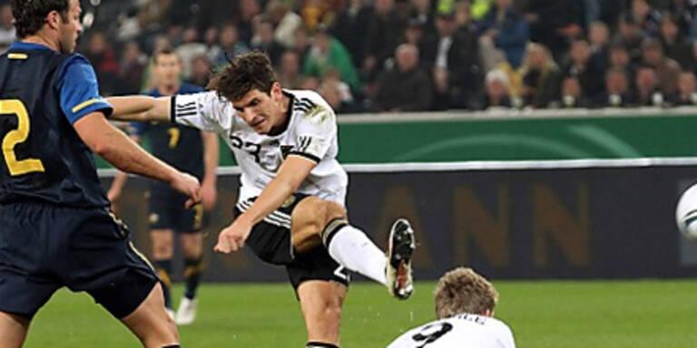 Deutschland verliert gegen Australien