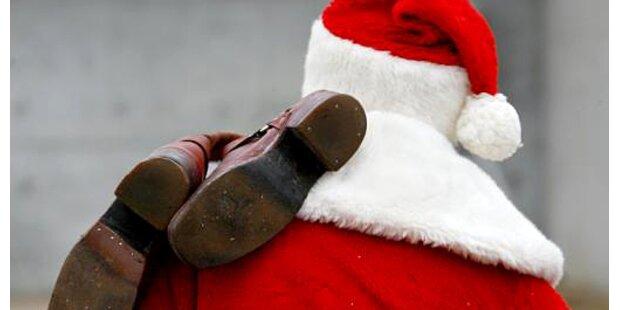 2m großer Santa Claus gestohlen