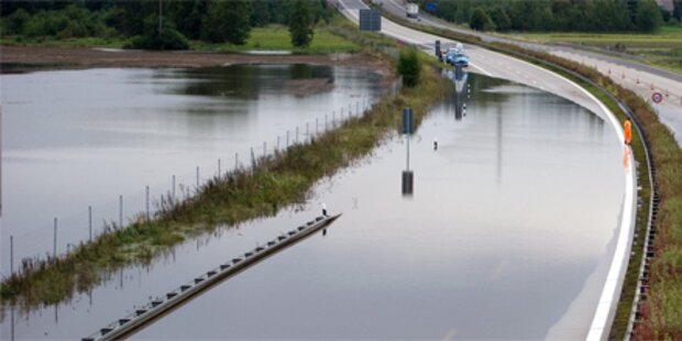 Dramatische Hochwasserlage in Deutschland
