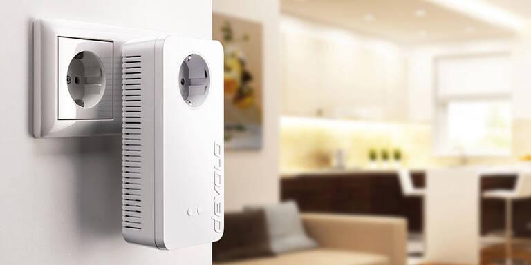 Devolo greift mit neuem Powerline-Kit an