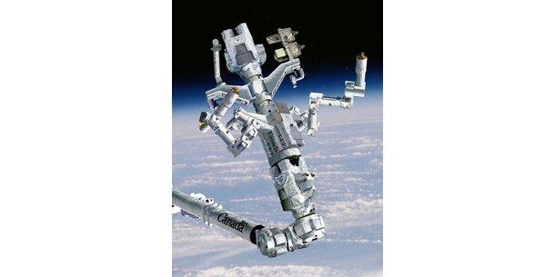 Roboter erobert Raumstation ISS
