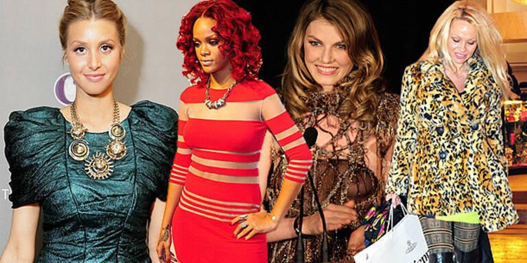 Mode-Fiaskos der Stars im Dezember