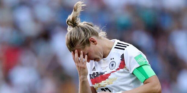 Kurioser Frosch-Alarm bei DFB-Girls