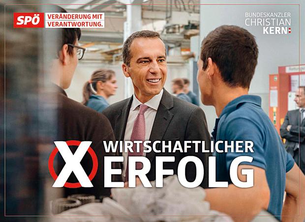 Kern Plakat SPÖ