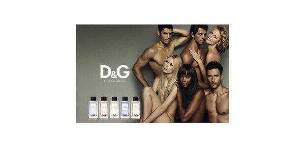 Claudia Schiffer nackt für D&G