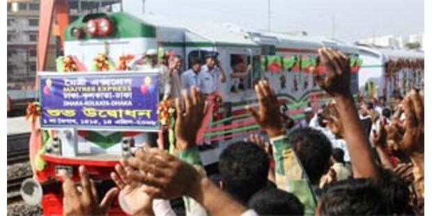 Wieder Zugverkehr zwischen Indien und Bangladesch