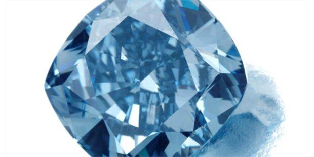 Blauer Diamant erzielt Rekord-Erlös