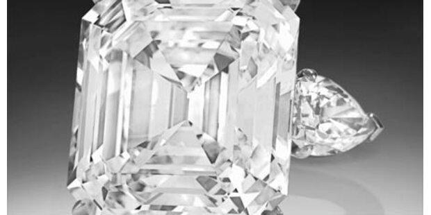Diamant löst Bieterrausch aus