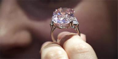 Diamantring 46 Mio Dollar Sotheby