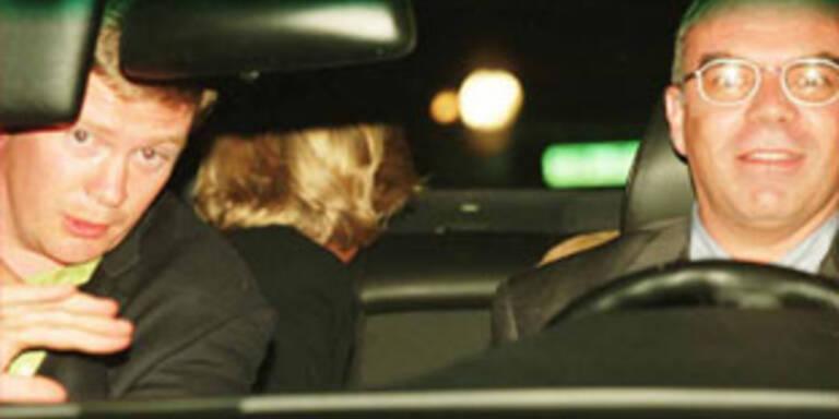 Diana mit Leibwächter und Fahrer: Letzte Bilder der Unglücksfahrt