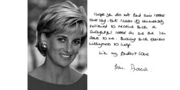 Briefe Dianas an Schwiegerpapa veröffentlicht