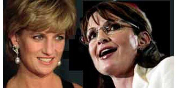 Sarah Palin soll mit Lady Di verwandt sein