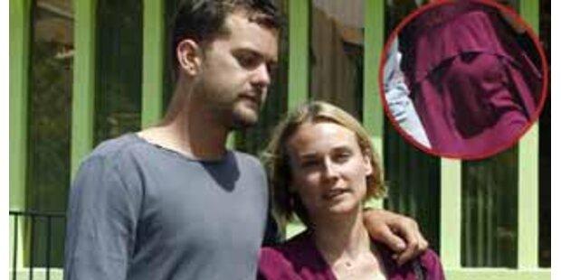 Diane Kruger sieht ganz schön schwanger aus