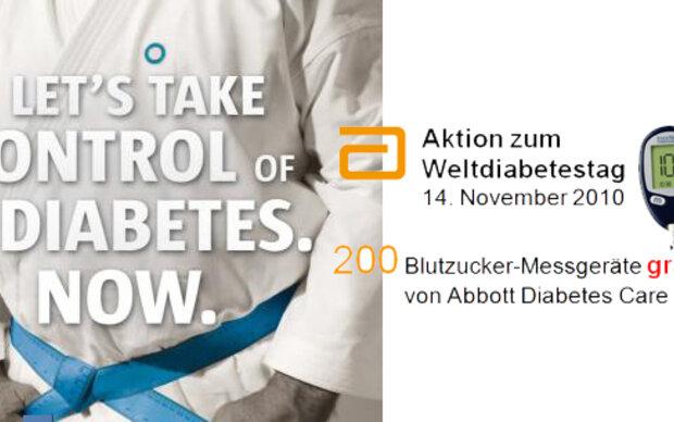 Aktion: 200 kostenlose Blutzucker-Messgeräte!