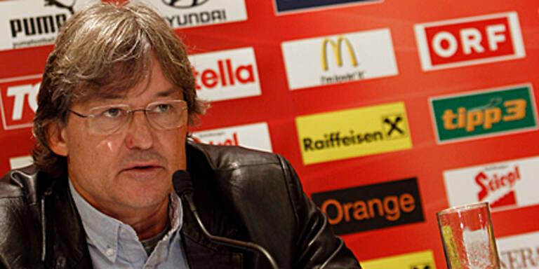Constantini denkt nicht an Rücktritt