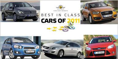 Die sichersten Autos des Jahres 2011