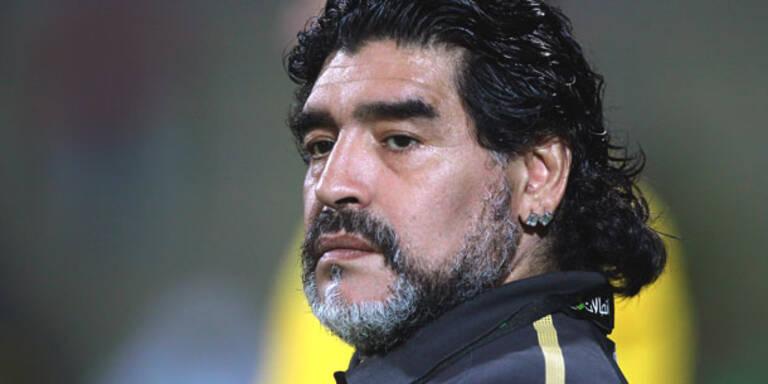 Maradona: Jetzt offiziell vierfacher Vater