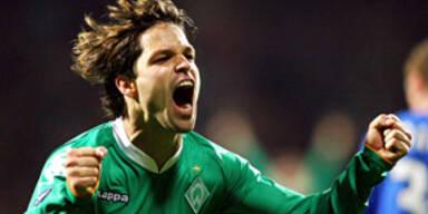 Klar überlegene Werder-Elf gegen Rangers out