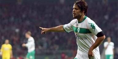 Diego schießt Werder Bremen zum Sieg
