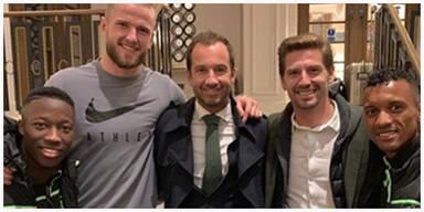 Witzige Foto-Panne: England-Star hat die Hose voll