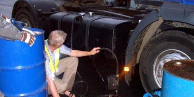 3.000 Liter Sprit in Rechnitz gestohlen