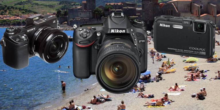Die besten Kameras für den Urlaub