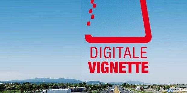 Letzte Chance für digitale Vignette