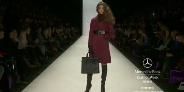 Mercedes-Benz Fashion Week: Dimitri