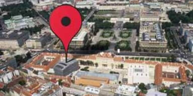 Google Maps startet in Österreich