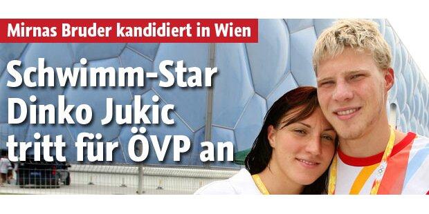 Schwimmstar Jukic tritt für ÖVP an