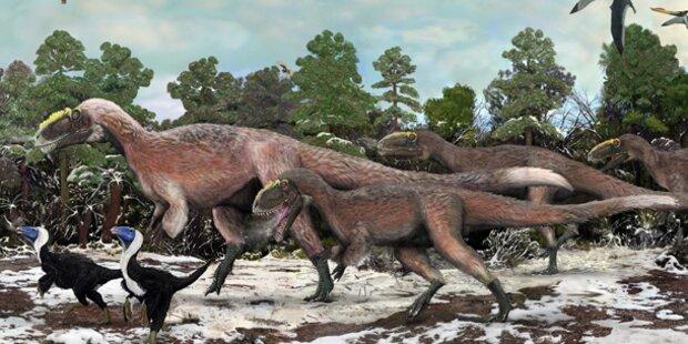 Dinosaurier-Blähungen wärmten die Erde