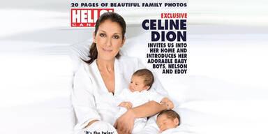 Céline Dion zeigt uns ihre Zwillinge