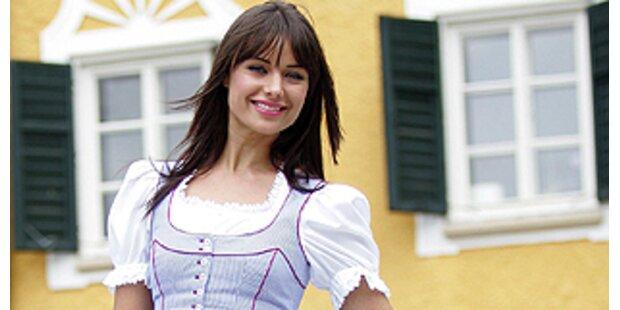 Miss Universum wirbt in Russland für Salzburg