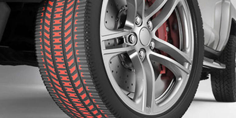 Reifenfarbe mahnt zum Wechseln