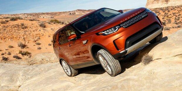 Neuer Land Rover Discovery im Fahrbericht